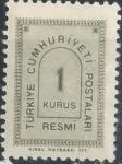 Stamps : Asia : Turkey :  TURQUIA SCOTT_O84.01 CORREO OFICIAL. $0.2