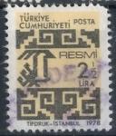 Stamps : Asia : Turkey :  TURQUIA SCOTT_O146 CORREO OFICIAL. $0.2