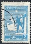 Stamps : Asia : Turkey :  TURQUIA SCOTT_RA50 SOLDADO Y MAPA DE TURQUIA. $0.2