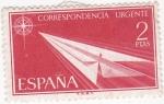 Sellos del Mundo : Europa : España : CORRESPONDENCIA URGENTE  (2)