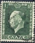 Stamps Greece -  GRECIA SCOTT_391 REY JORGE II. $0.2