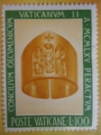 Stamps Vatican City -  Concilio Ecumenico Vaticano II. 1965.