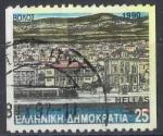 Stamps : Europe : Greece :  GRECIA SCOTT_1691.02 VISTA DEL AYTO. DE VOLOS, EN MADERA POR A. TASSOU. $0.2