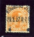 Stamps Denmark -  Christian X