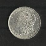 monedas del Mundo : America : Estados_Unidos :  Dolar Morgan / Anverso