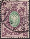 Sellos del Mundo : Europa : Finlandia : 1901 Scott 68