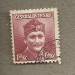Stamps Czechoslovakia -  Dr. Novan