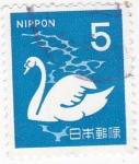 Stamps : Asia : Japan :  Cisne