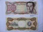 monedas de America - Venezuela -  Anverso:Simón Bolívar- Reverso:Capitolio Nacional y Escudo