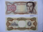 monedas del Mundo : America : Venezuela :  Anverso:Simón Bolívar- Reverso:Capitolio Nacional y Escudo