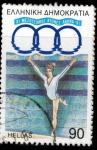Stamps Greece -  IX JUEGOS DEL MEDITERRANEO (8)