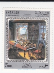 Stamps United Arab Emirates -  Pintura-piano