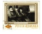 Stamps Romania -  Daumier