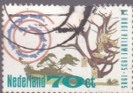 Sellos de Europa - Holanda -  50 Aniversario Parque nacional De Hoge Veluwe
