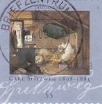 Stamps Germany -  Pintura de Carl Spitzweg 1808-1885