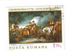 Stamps Romania -  J. Trumbull: