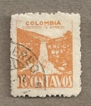 Stamps Colombia -  Cascada