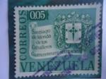 Sellos de America - Venezuela -  Cuatrícentenario 1558-1958- Santiago de Mérida de los aballeros.