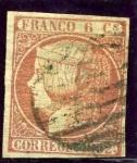 Stamps Europe - Spain -  Isabel II