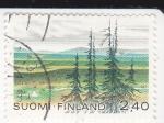 Stamps Finland -  Paisaje finlandés