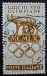Sellos de Europa - Italia -  Olimpiada 1960