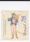 Stamps Portugal -  Vendedor de ropa -Profesiones del siglo XIX