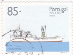 Stamps Portugal -  Barco cargero  MADEIRA