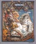Stamps Spain -  MATRONA  Y  GUERRERO.  TAPIZ  SIGLO  XVII