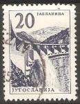 Stamps Yugoslavia -  REPRESA  HIDROELÈCTRICA  DE  JABLANICA