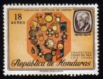 Sellos de America - Honduras -  Condecoraciones del Profesor Luis Landa