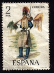 Sellos de Europa - España -  Regimiento