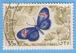 Stamps : Asia : Lebanon :  Heliconius cyrbia
