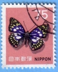 Stamps : Asia : Japan :  Butterfly