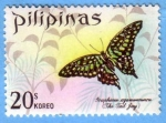 Stamps Philippines -  Butterfly