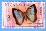 Stamps Nicaragua -  Ananea Cleomestra