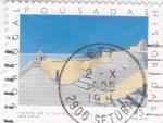 Sellos de Europa - Portugal -  Castillo de S. Filipe- Setúbal