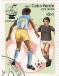 Stamps Cape Verde -  Mundial España-82 y Mascota