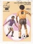 Sellos de Africa - Cabo Verde -  Mundial España-82 y Mascota