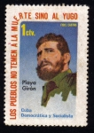 Sellos del Mundo : America : Cuba : Los Pueblos no Temen a la Muerte Sino Al Yugo