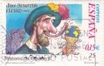 Sellos de Europa - España -  Juan Sebastian Elcano-HISTORIA DE ESPAÑA II  (3)