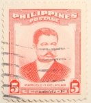 Stamps Philippines -  Marcelo H del Pilar