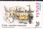Stamps Spain -  Sentímos la Música- EL SELLO COMPAÑERO INSEPARABLE  (3)