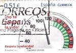 Stamps Spain -  Respeta la Velocidad    (3)