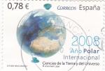 Stamps Spain -  2008 Año Polar- Ciencias de la Tierra y del Universo   (3)