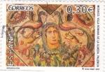 Stamps Spain -  Mosáico, Villa Romana de la Olmeda-Palencia   (3)