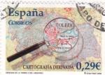 Sellos del Mundo : Europa : España :  Cartografía derivada   (3)