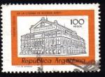 Sellos del Mundo : America : Argentina : Teatro Colon de la ciudad de Buenos Aires