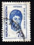 Sellos de America - Argentina -  General Jose de San Martín