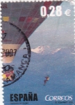 Stamps Spain -  Al Filo de lo Imposible    (3)