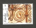 Stamps Spain -  4052 - Románico aragonés, Reja de la ermita de Santa María de Iguácel, Huesca